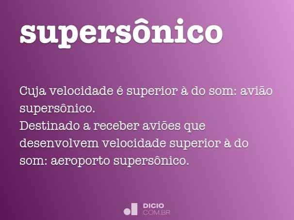 supers�nico