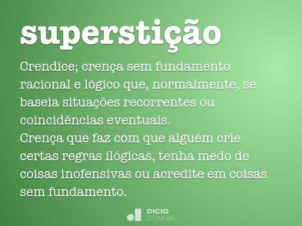 supersti��o