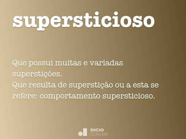 supersticioso