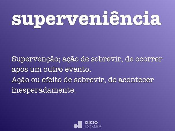 superveni�ncia