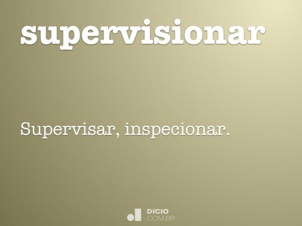 supervisionar