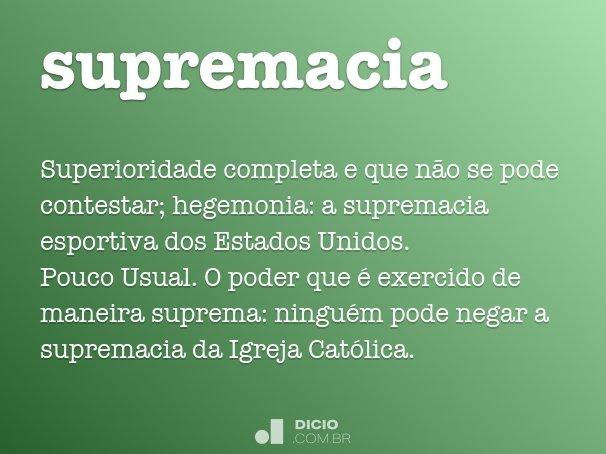 supremacia