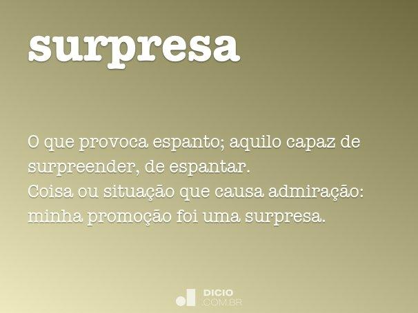 surpresa