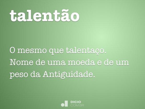talentão