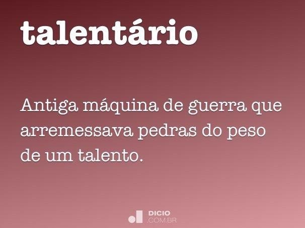 talentário