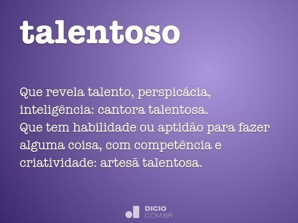 talentoso