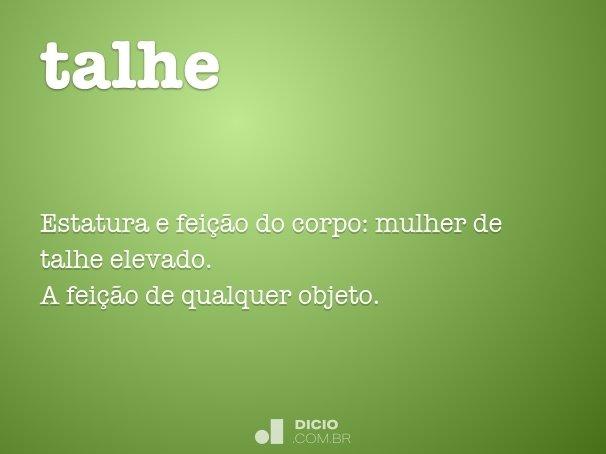 talhe