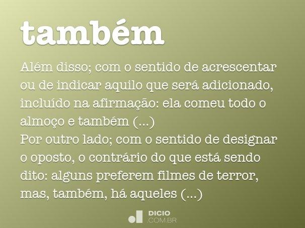 tamb�m