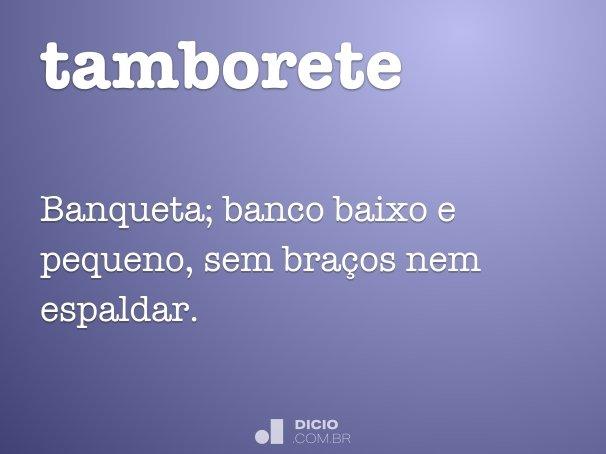 tamborete