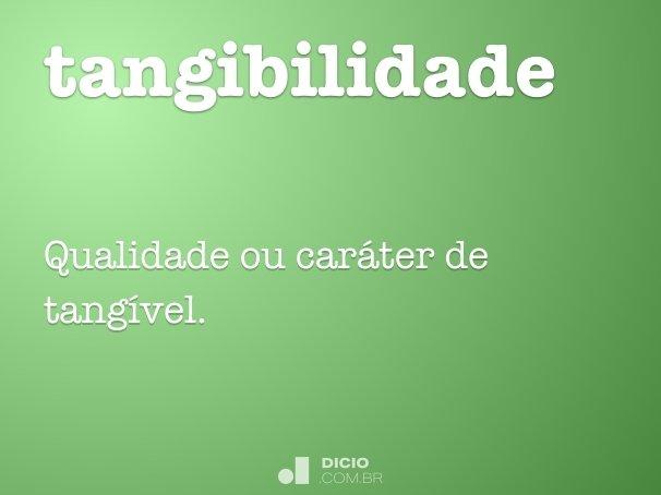 tangibilidade