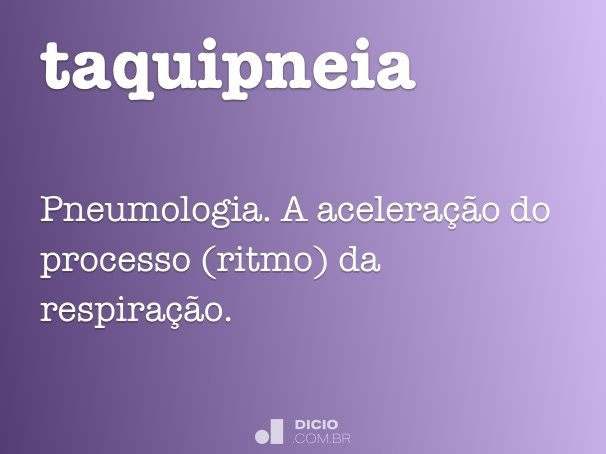 taquipneia