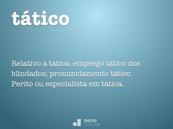tático