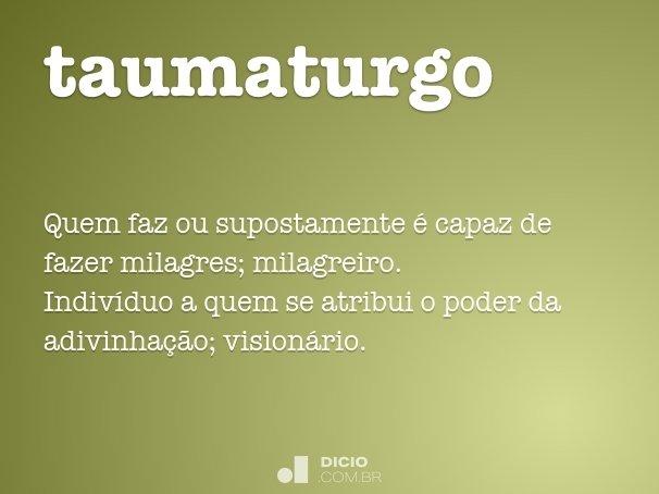 taumaturgo