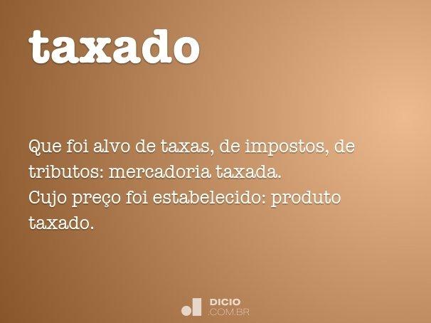 taxado