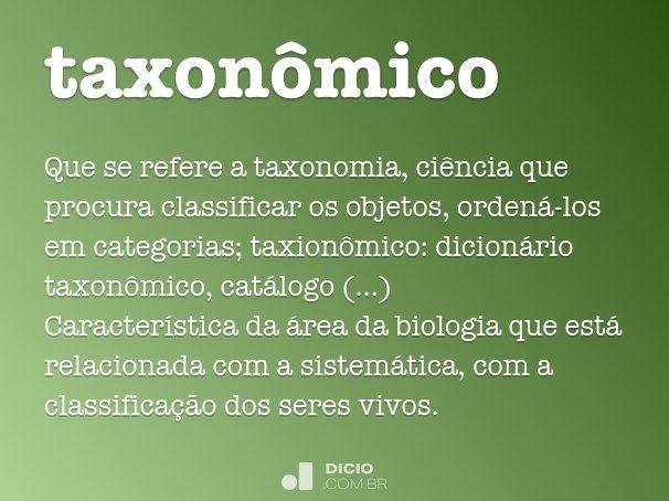 taxon�mico