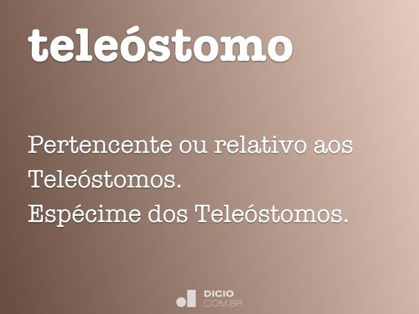 teleóstomo