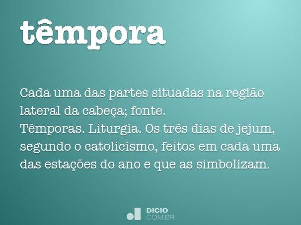 têmpora