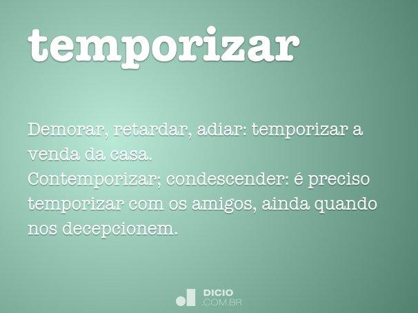 temporizar