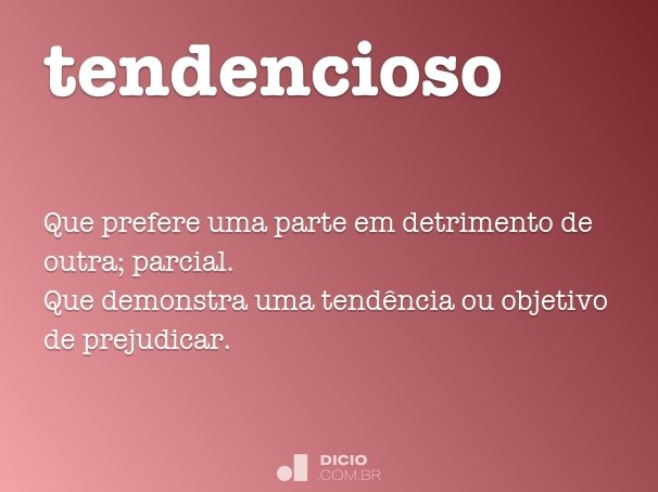 tendencioso