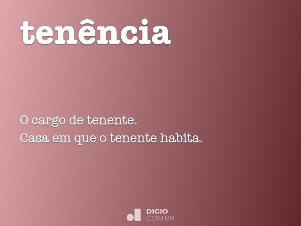 ten�ncia