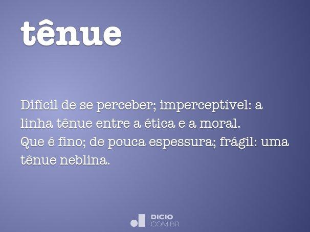t�nue