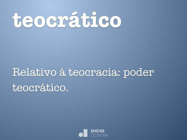teocr�tico