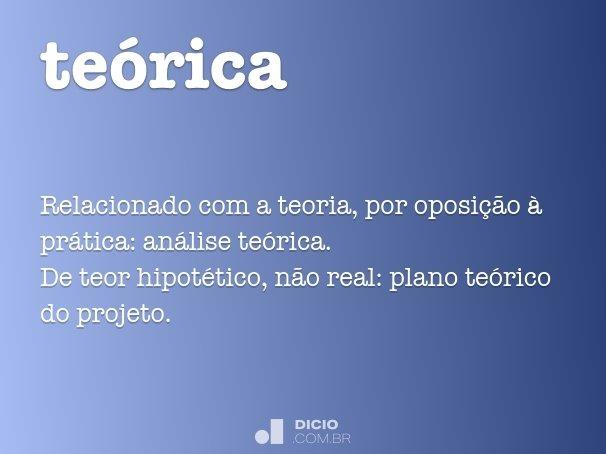 te�rica