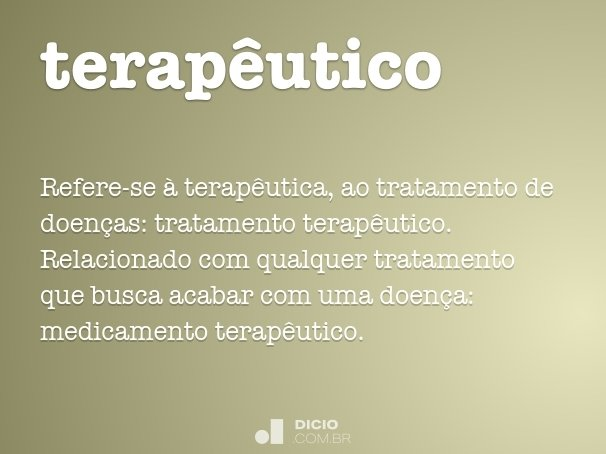 terap�utico