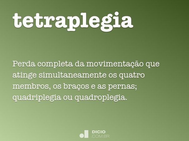 tetraplegia