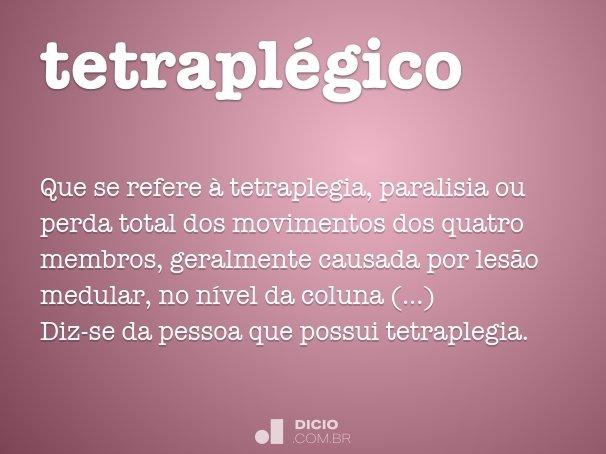 tetrapl�gico