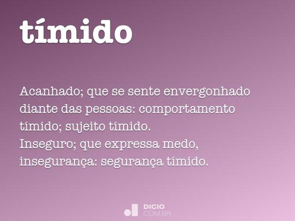 t�mido