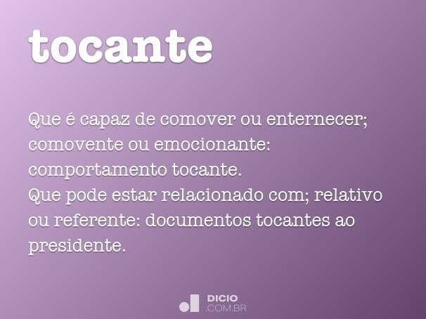 tocante