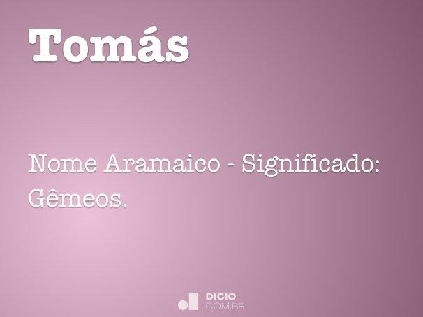 Tom�s