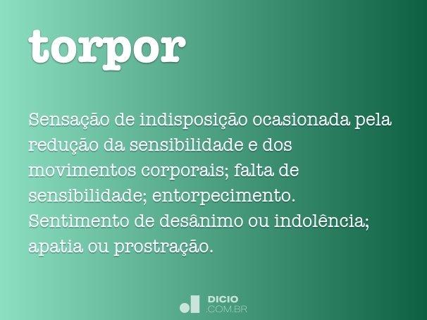 torpor