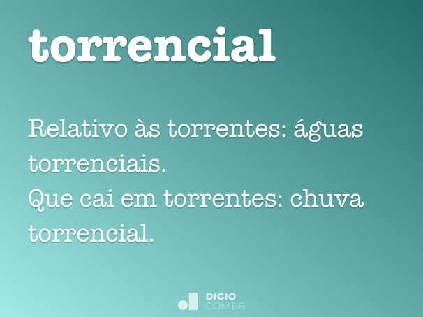 torrencial