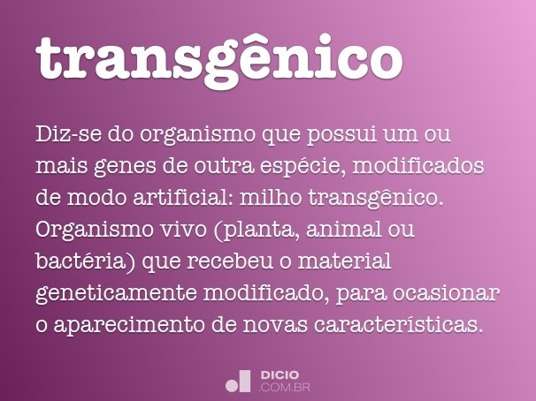 transgênico