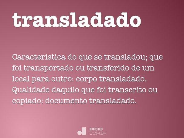transladado