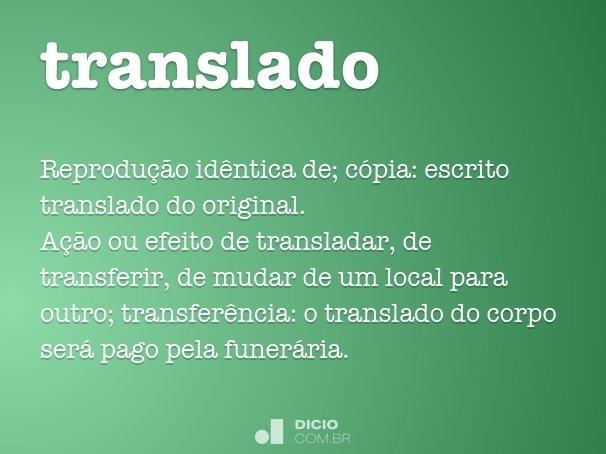 translado