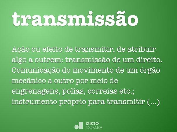 transmiss�o