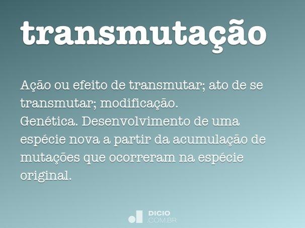 transmuta��o