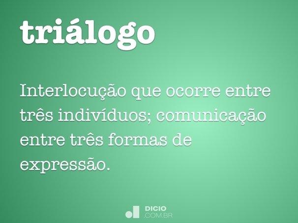 triálogo