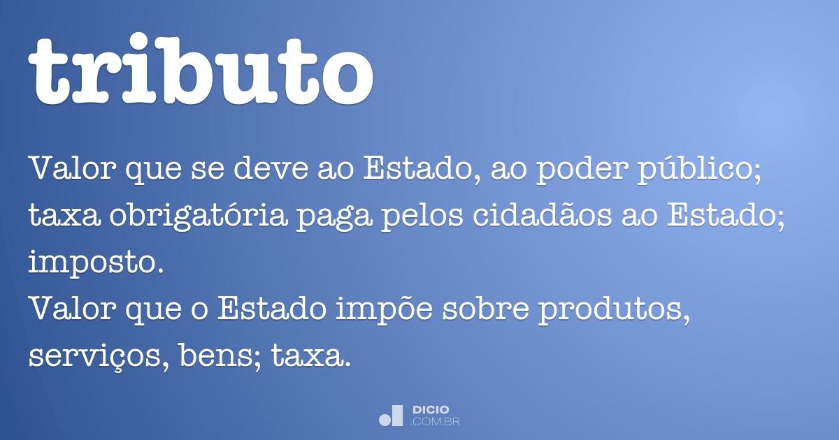 tributo dicion rio online de portugu s