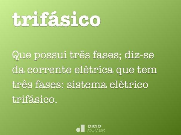 trif�sico