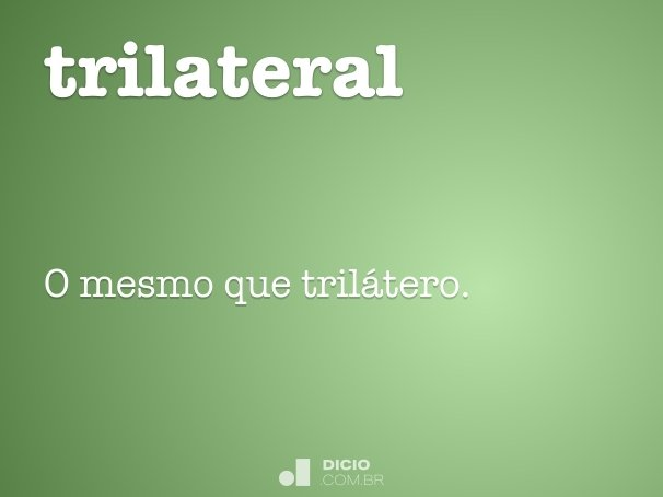 trilateral