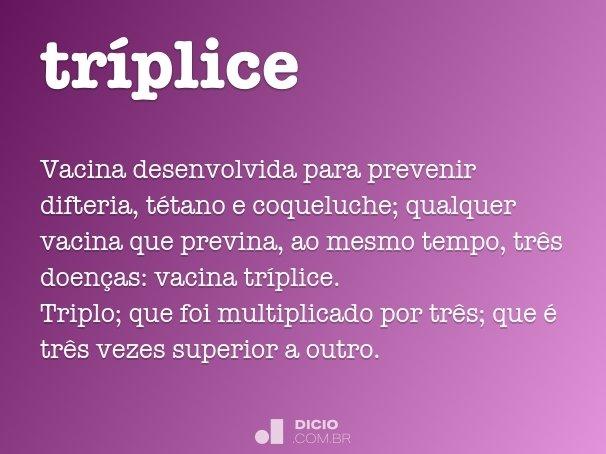 tríplice