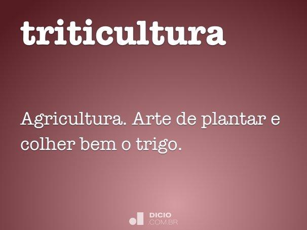 triticultura