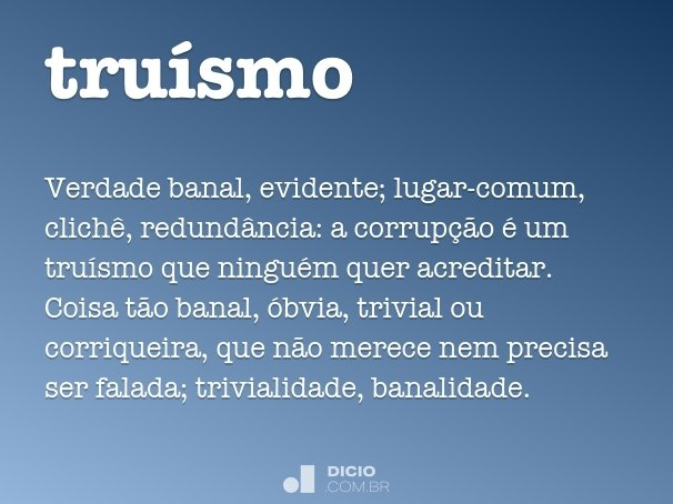 truísmo
