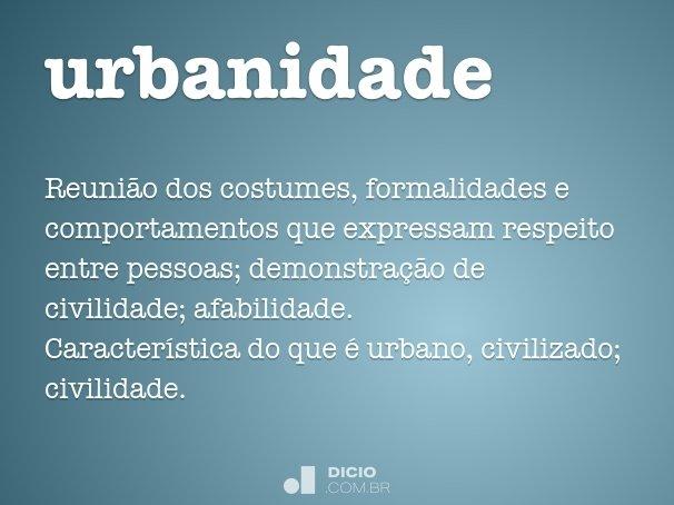 urbanidade