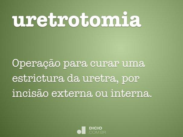 uretrotomia