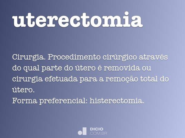 uterectomia
